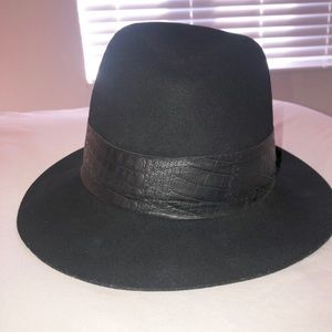 Janessa Leone black wool hat